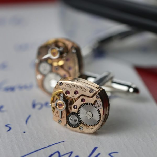 FOR THE ENTHUSIAST – IFL WATCHES MOVEMENT CUFFLINKS
