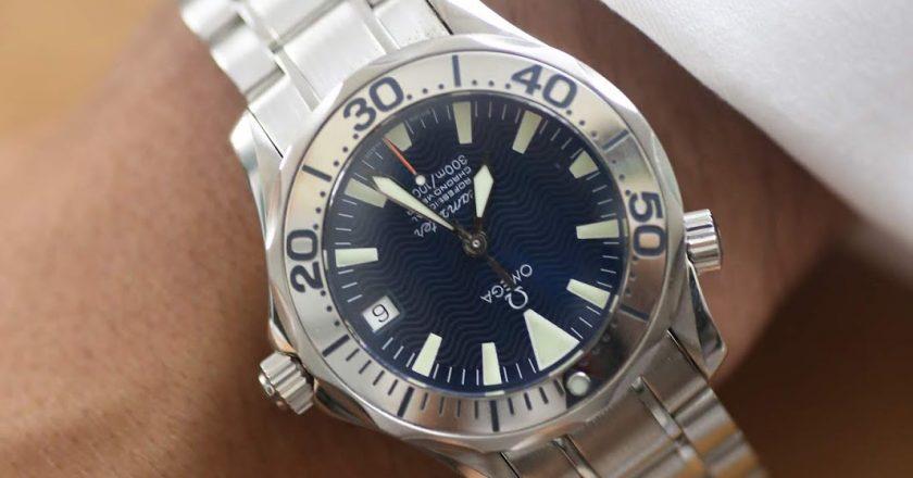 A Week On The Wrist – Omega Seamaster Electric Blue 2253.80