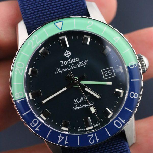 Review – Zodiac Super Sea Wolf GMT